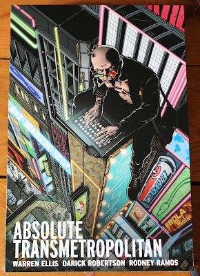 Warren Ellis and Darick Robertson - Absolute Transmetropolitan
