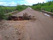 Trecho entre Cariri e Lago dos Rodrigues ameaça desmoronar e cortar a MA-119