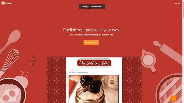 Membuat Blog di Blogger/Blogspot