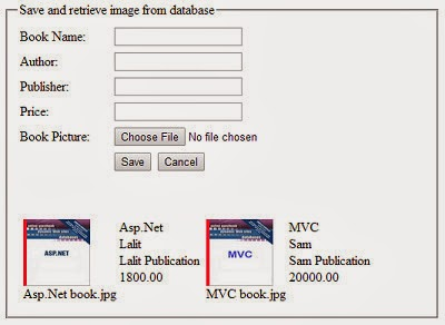 Upload image in folder and path in Sql server database and