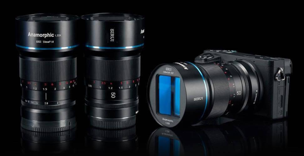 Объективы Sirui и камера Sony