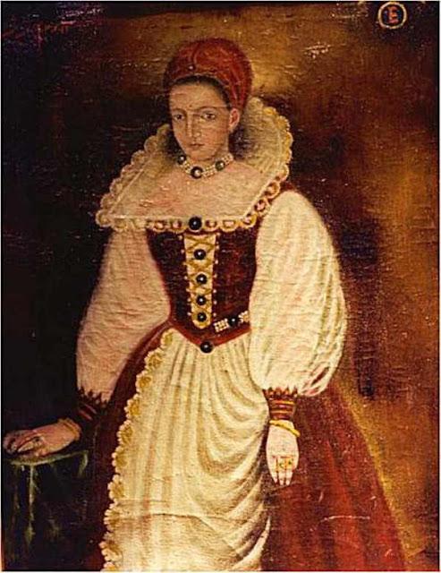 Erzsébet Báthory - Retrato - La Condesa Sangrienta