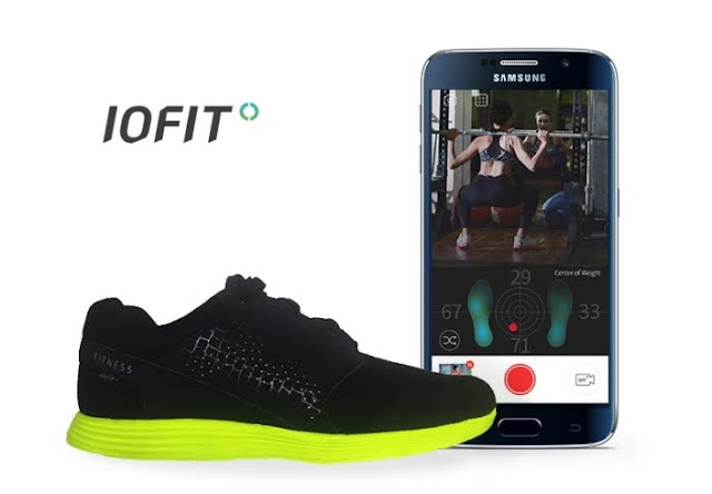 Staying Fit With The IOFIT Smart Shoe Releasing At MWC 2016