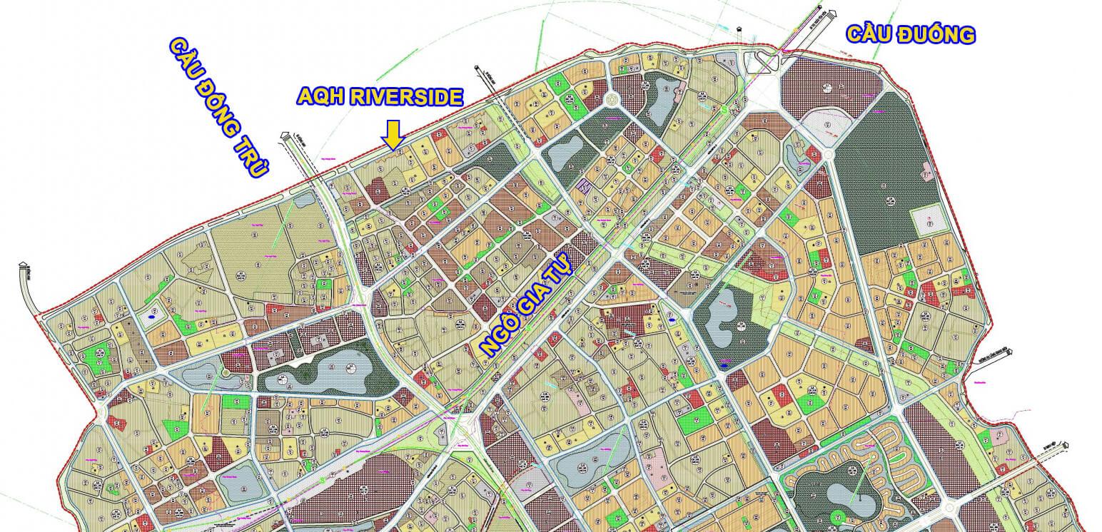 Quy hoạch khu vực Đức Giang, Thượng Thanh.