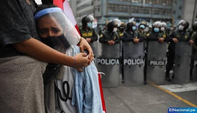 Marcha nacional contra el régimen de Merino