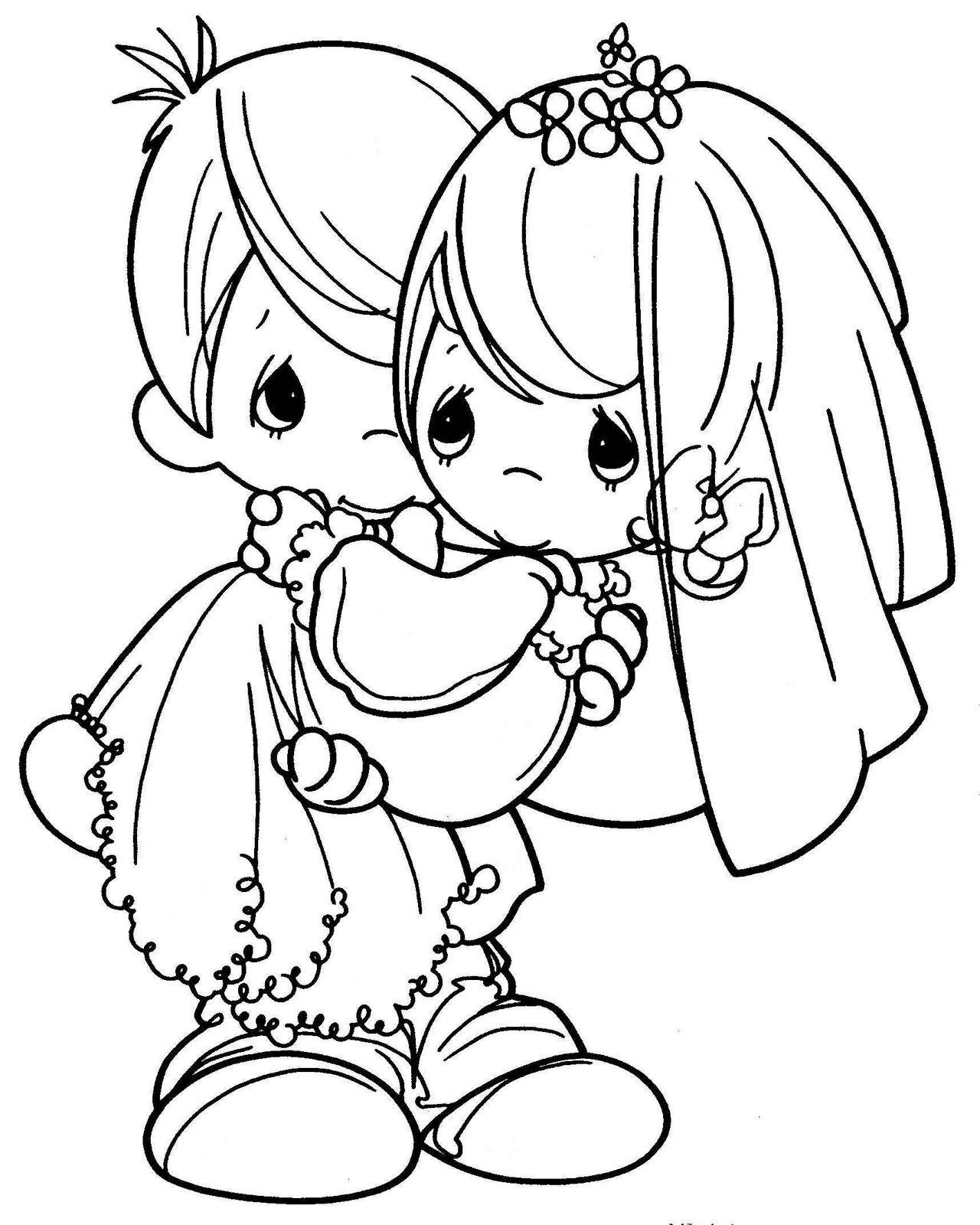 Imagenes de novios en caricatura - Imagui