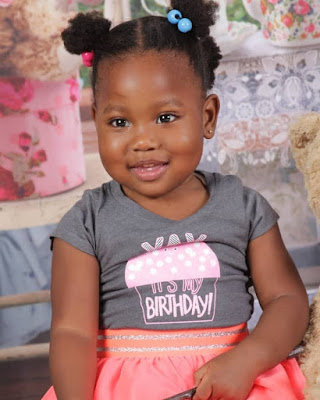 Adorable photo of Comedian Seyi Law's daughter Tiwa