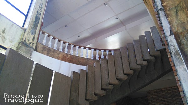 Diplomat Hotel's grand staircase