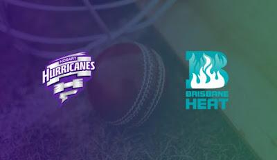 BBL 2019-20 HEA vs HUR 29th T20I Match