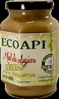 Miel Cruda Eucalyptus sin glifosato Ecoapi ECOAPICULTORES producto saludable