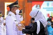 Resmi Dilantik Gubernur Jatim, Achmad Fauzi Bupati Sumenep Siap Tunjukan Kerja Nyata