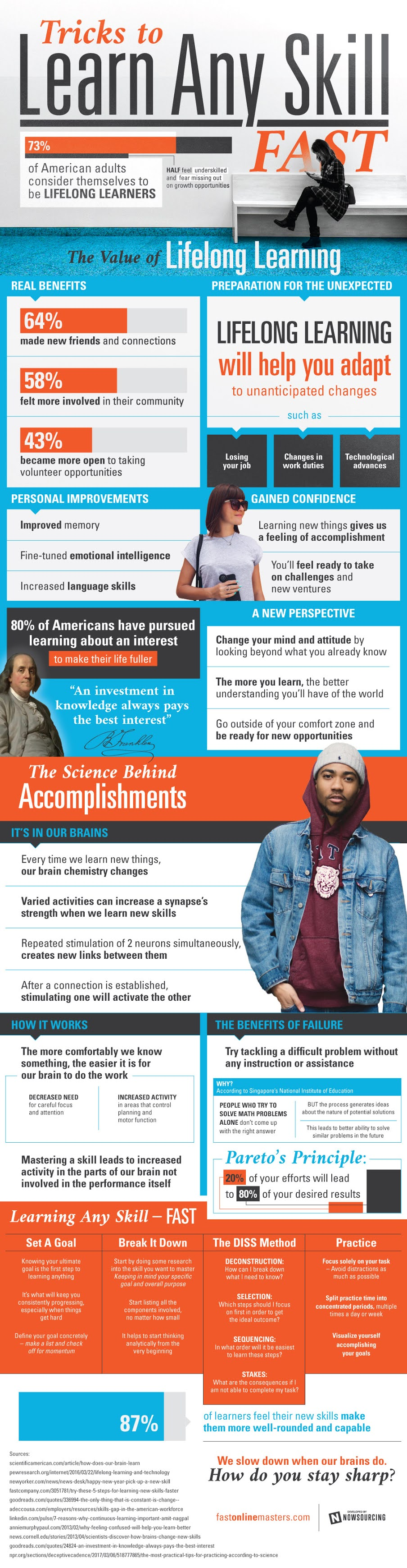 Tricks To Learn Any Skill Fast #infographic