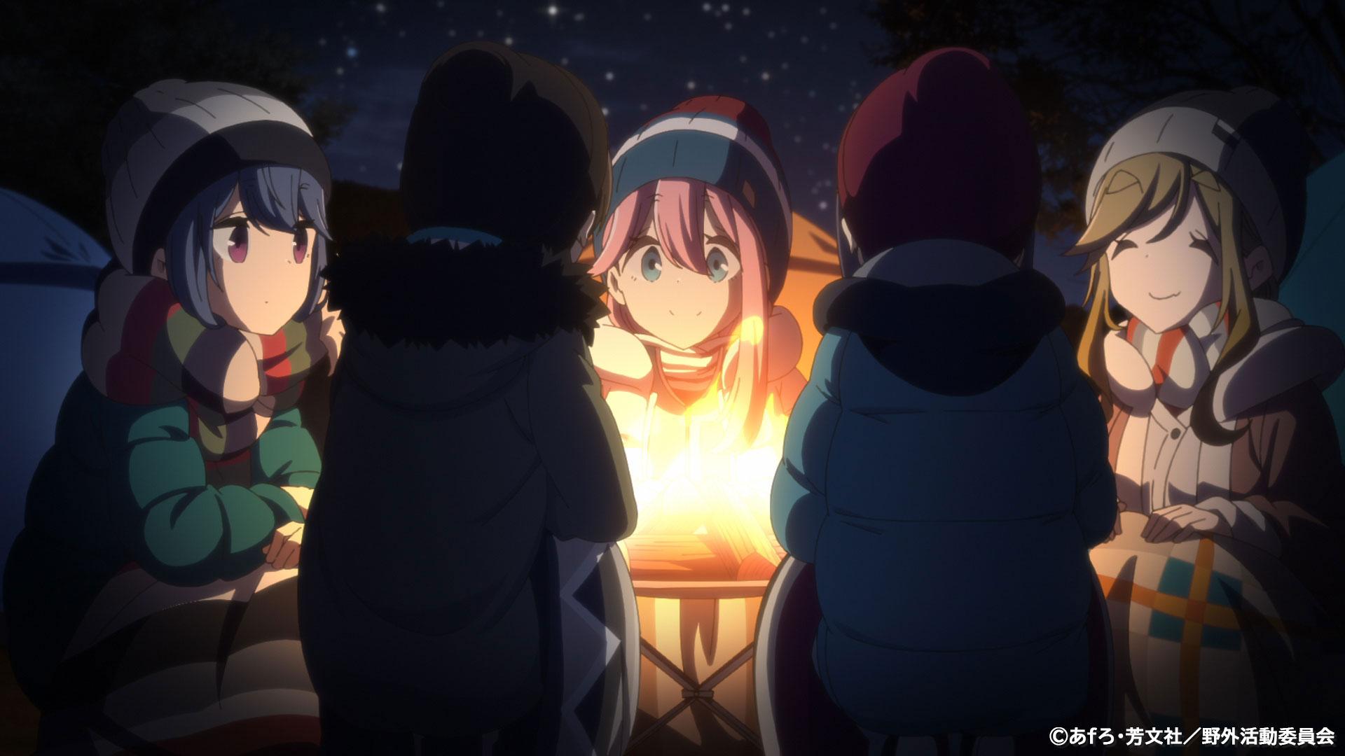 Tabisuru Shima Rin OVA Yuru Camp