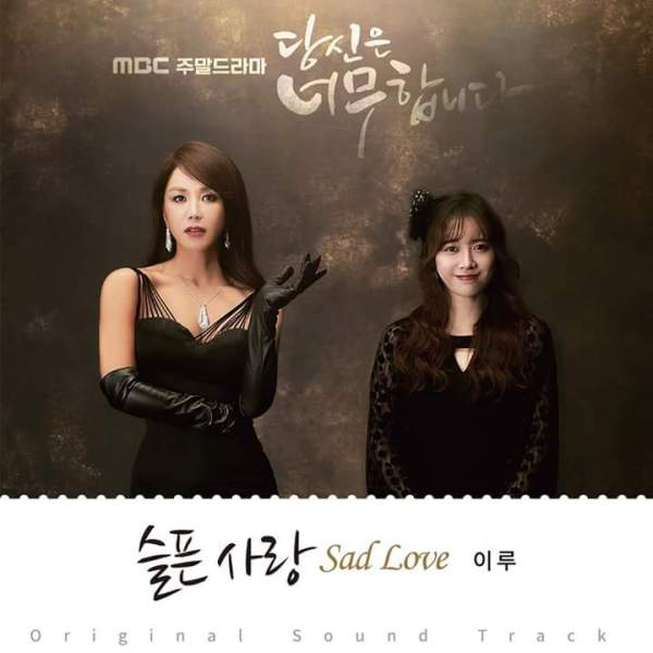 Lyric : Eru (이루) - Sad Love (슬픈사랑) (OST. You Are Too Much)