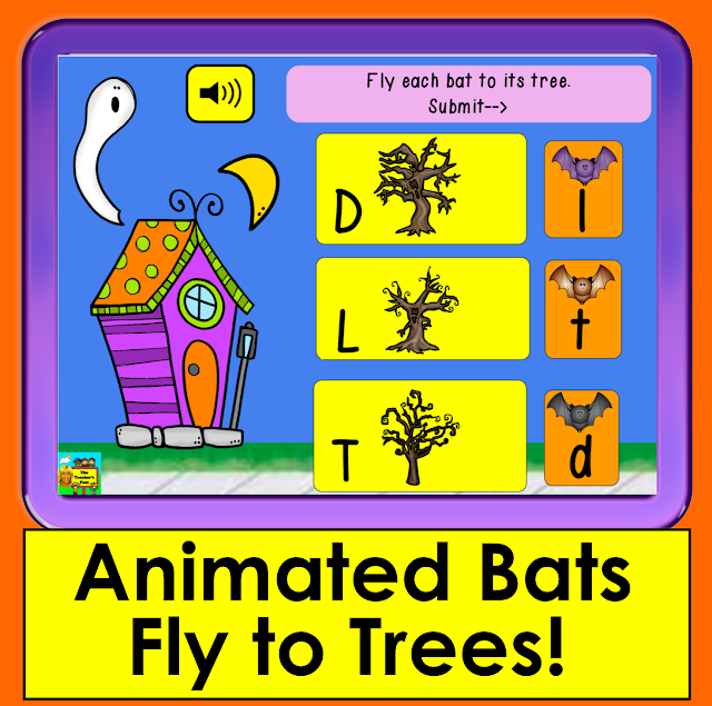 https://www.teacherspayteachers.com/Product/Boom-Cards-Letter-Recognition-Match-Upper-to-Lowercase-Letters-Animated-Bats-3413831