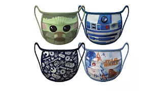 Disney now sells cloth face masks featuring Star Wars and Marvel characters