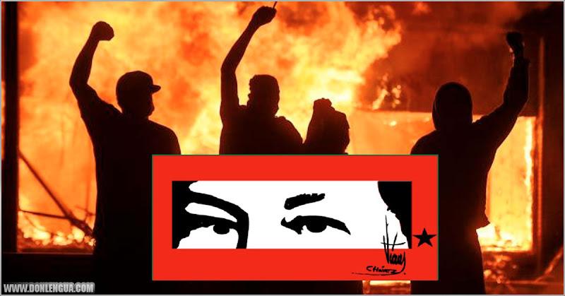 Toque de Queda en EEUU tras ataques de terroristas urbanos financiados por la izquierda