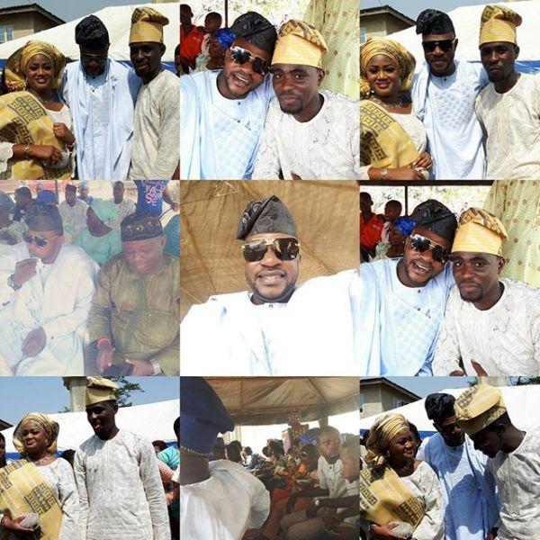Celebrity Wedding Nollywood Movie: Tunde Owokoniran Wedding Photos: Nollywood Yoruba Actor