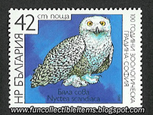White Owl stamp