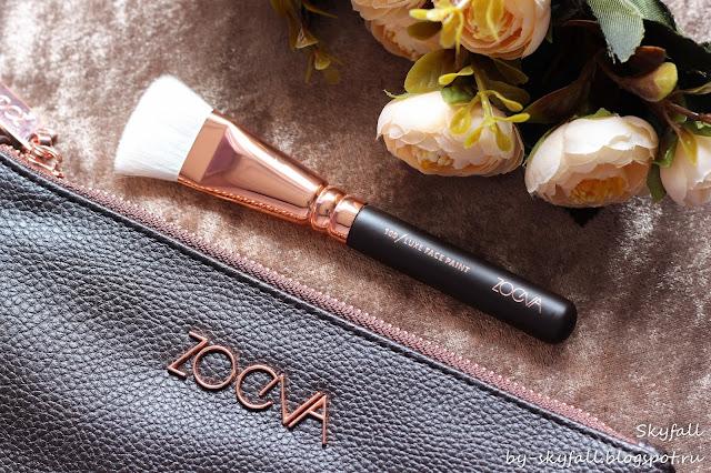Zoeva 109 Luxe Face Paint, кисть для скульптурирования, отзывы