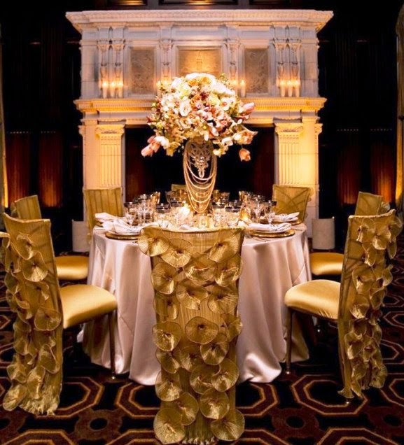 Gold Wedding Theme Ideas