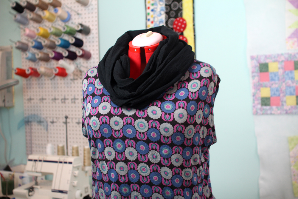 How to Make an Infinity Scarf DIY Sewing Tutorial How To Make An Infinity Scarf From Fabric