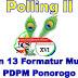 Polling II Pemilihan 13 Formatur Musyda XVI Telah Dimulai