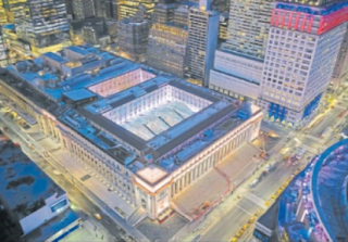 Train Hall is finally open across from Penn Station in New York