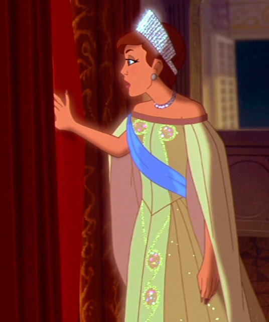 Anastasia filme, vestido czarina, amarelo figurino