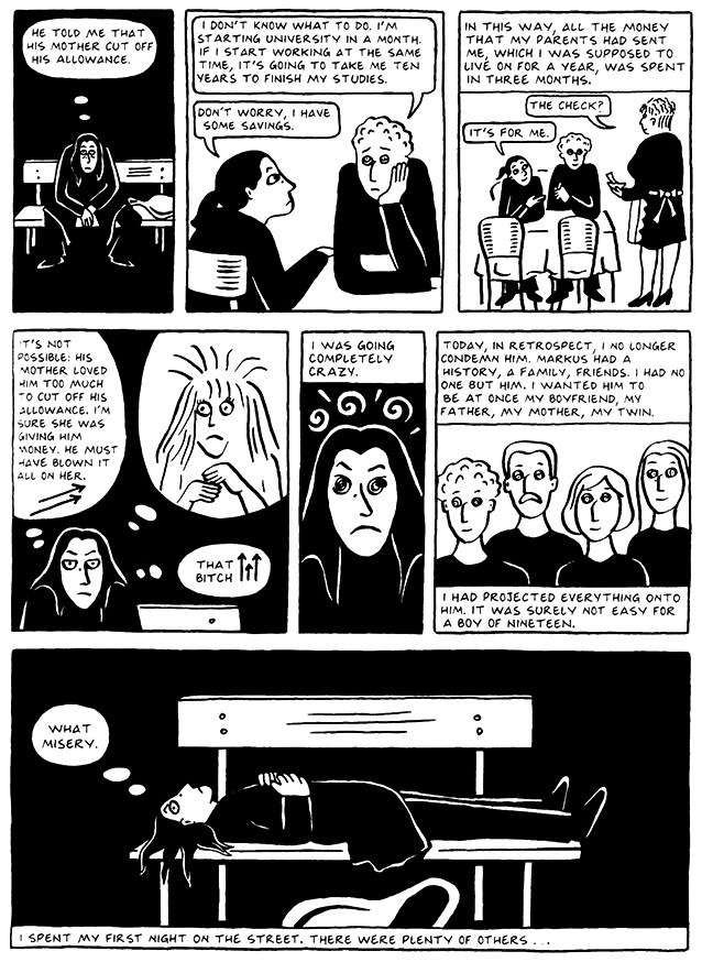 Read Chapter 9 - The Veil, page 83, from Marjane Satrapi's Persepolis 2 - The Story of a Return