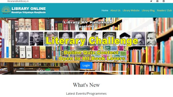 Library Online Portal Launched