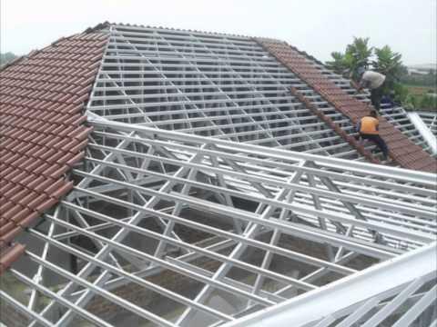 Contoh Pemasangan Rangka Atap Baja Ringan Contoh Pemasangan Rangka Atap Baja Ringan