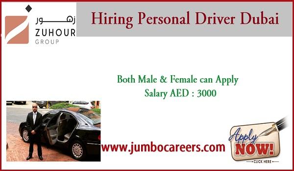 current job vacancies in Dubai, Salary oriented jobs in UAE,