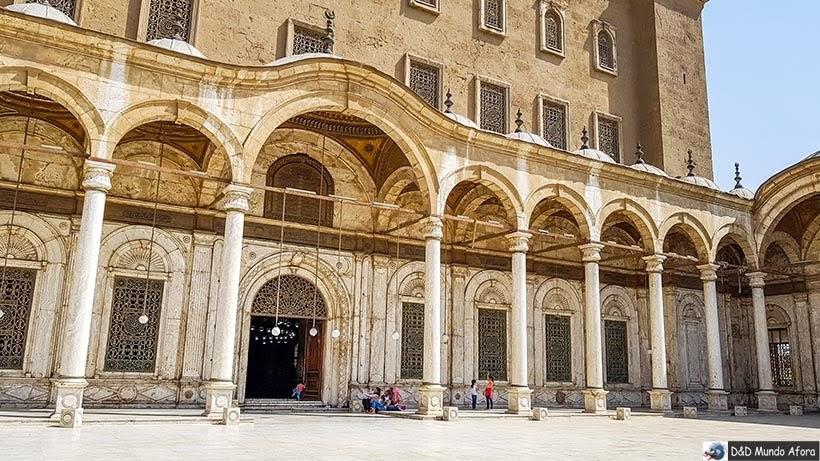 Entrada da Mesquita de Mohamed Ali na Cidadela de Saladino