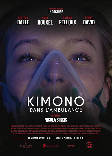 Kimono dans l'ambulance un cortometraje de Nicola Sirkis