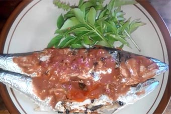 Ikan Bakar Tenggiri Sambal Terasi Jeruk Kemangi