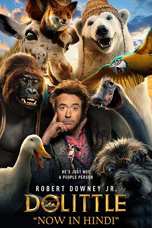 Watch Online Free Dolittle (2020) Full Hindi Dual Audio Movie Download 480p 720p HD