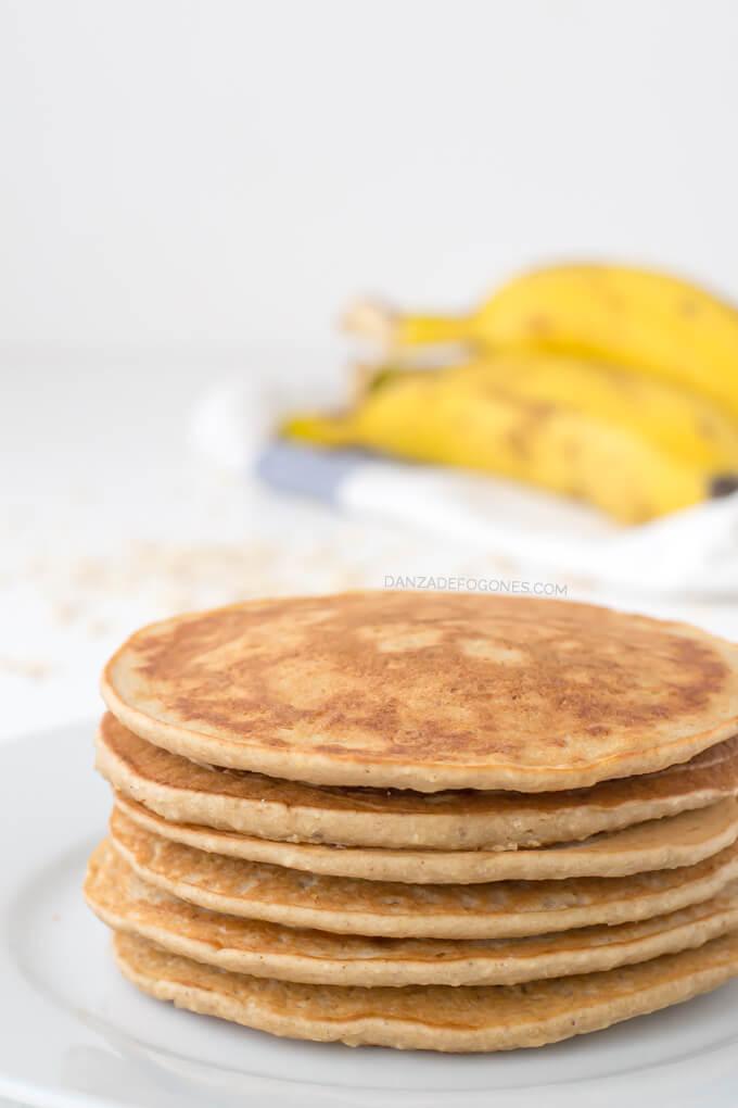 Gluten-free, vegan pancakes | danceofstoves.com