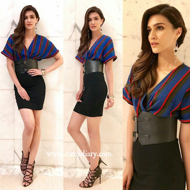 Kriti Sanon In Zara and Flirtatious India