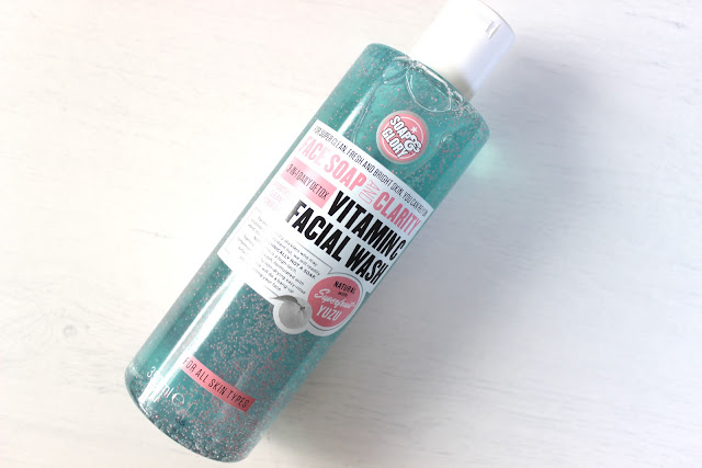 Face soap and clarity vitamin c facial wash soap and glory