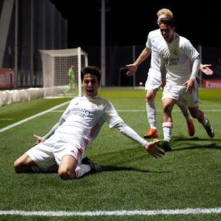 Victoria ante el líder. Real Madrid Castilla 3-1 Navalcarnero.