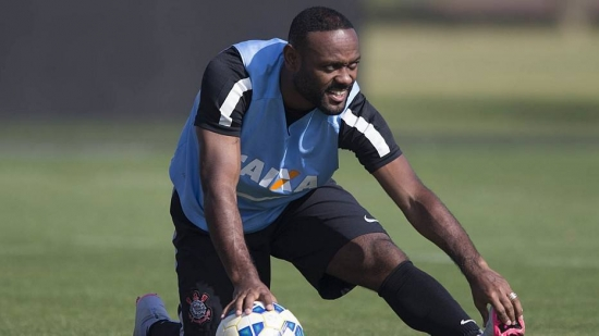 Vagner Love, atacante do Corinthians