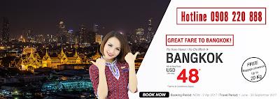 Khuyến mãi hấp dẫn đi Bangkok của Thai Lion Air