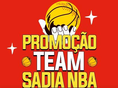 Nova Promoção Sadia 2021 Prêmios NBA e TVS