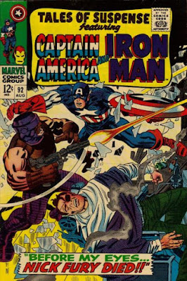Tales of Suspense #92, Captain America