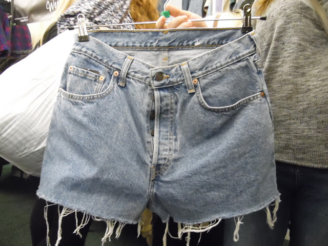 Real, vintage levi shorts at lou lou's vintage fair, Cardiff | ACupofT