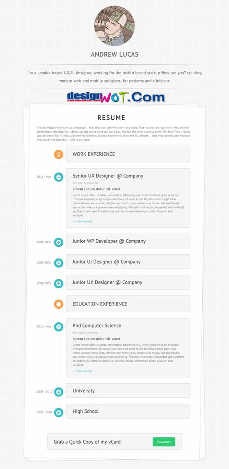 Lucas - Personal Minimalist WordPress Blog Theme