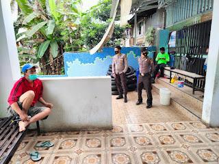 Pantau Penerapan Protokol Kesehatan, Anggota Polsek Alla Patroli Ke Objek Wisata Permandian