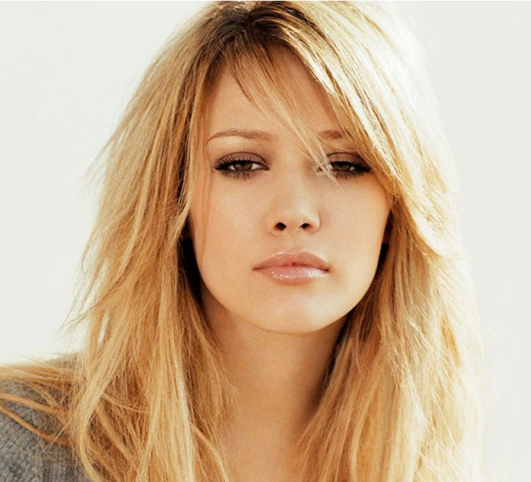 Long Hairstyles With Side Bangs
