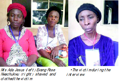 Mad Woman In Onitsha Becomes Choir Mistress After 35 Years Of Insanity - PHOTOS!